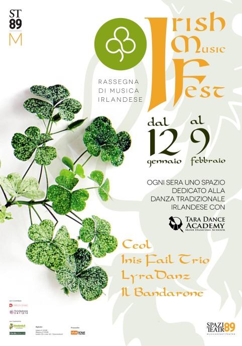 Locandina IRISH MUSIC FEST