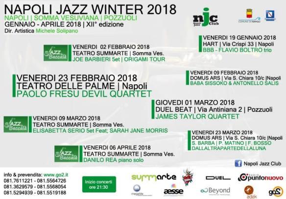 locandina napoli jazz winter