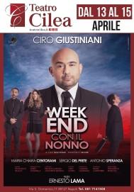 13 aprile: Ciro Giustiniani al Teatro Cilea
