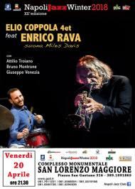 20 aprile: Elio Coppola 4tet & Enrico Rava