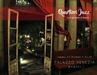 13 ottobre Quartieri Jazz